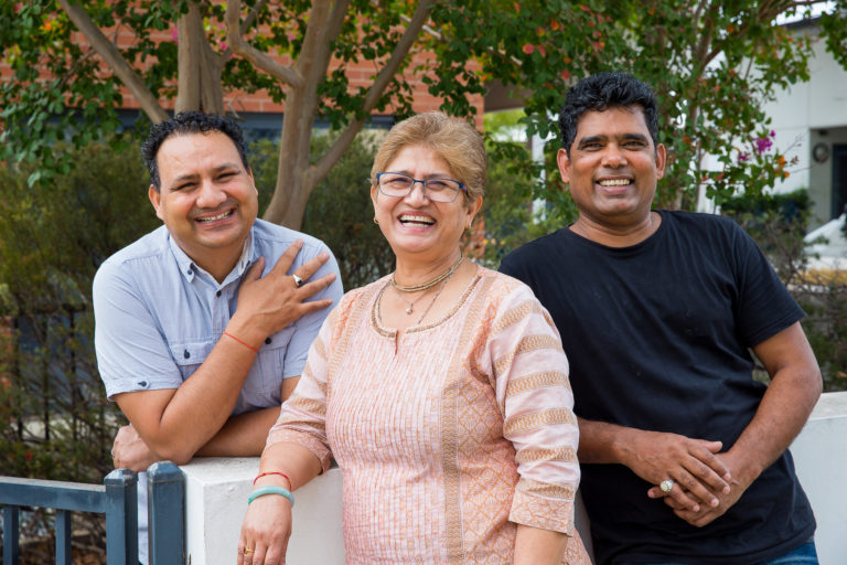 Some of the warm and friendly staff at our Merrylands supported accommodation