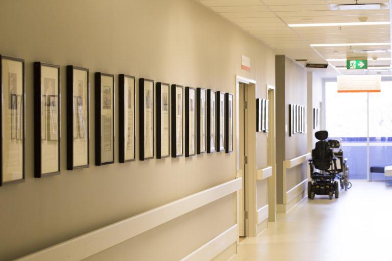 Wall of Fame corridor