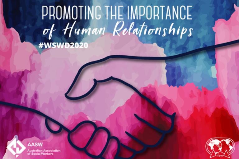 World Social Work Day 2020 logo