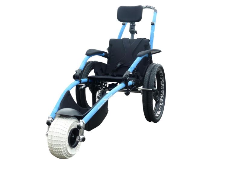 Child Size Hippocampe Beach Wheelchair