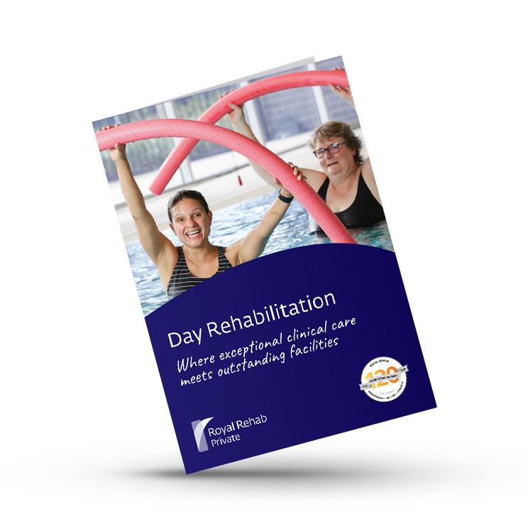 Day Rehab Brochure